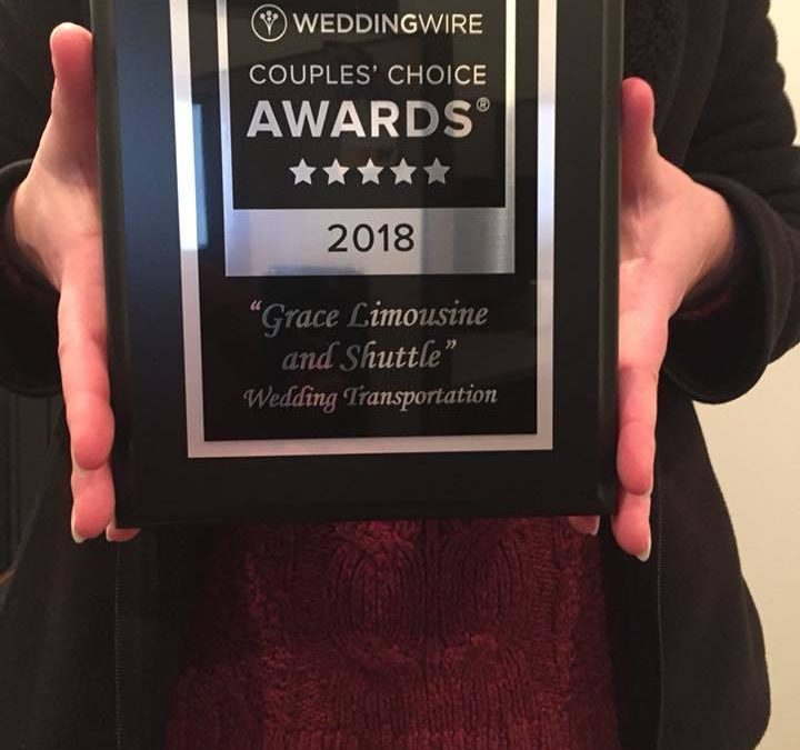 WeddingWire Couples' Choice Award - Grace Limo